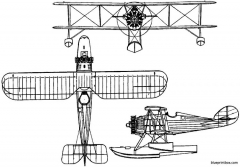 vought fu 1 1926 usa model airplane plan