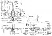 vought os2u 1 model airplane plan