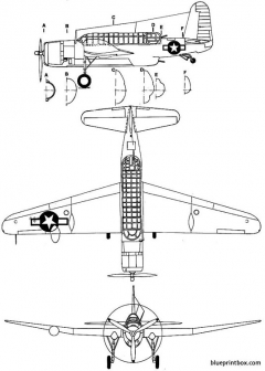 vought tby 1 seawolf model airplane plan