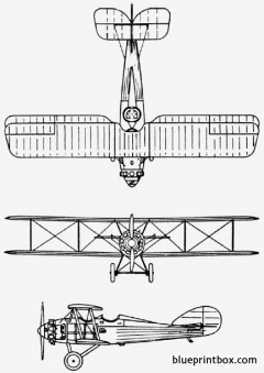 vought uo 1922 usa model airplane plan