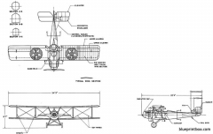 vought ve 7 model airplane plan