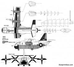 vought xc 142a model airplane plan