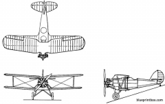 vought xo4u 1 model airplane plan