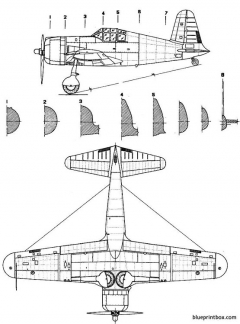 vultee p 66 2 model airplane plan