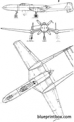 vultee xp 54 swoose goose model airplane plan