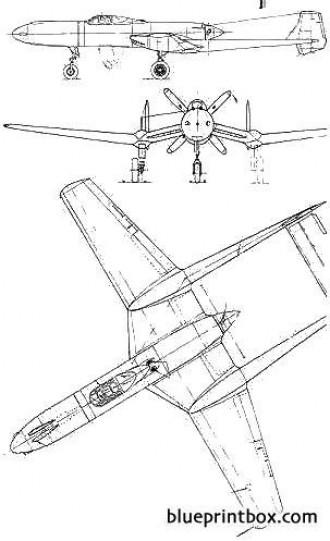 vultee xp 54 swoose goose model airplane plan