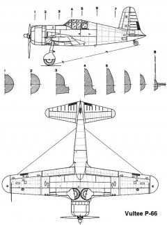 vulteep66 2 3v model airplane plan