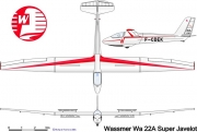 wa22 3v model airplane plan
