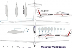 wa26 3v model airplane plan