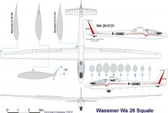 wa26 5 model airplane plan