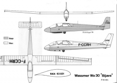 wa30 3v model airplane plan