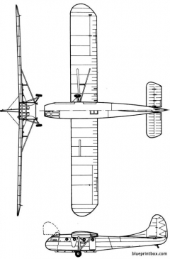 waco gc 4a model airplane plan