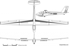 wassmer wa 22 superjavelot model airplane plan