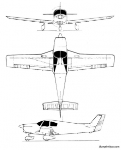 wassmer wa 51 pacific model airplane plan