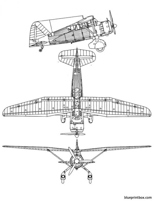 wesland lysander model airplane plan