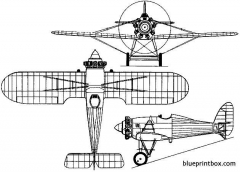 westland f20 27 interceptor 1928 england model airplane plan
