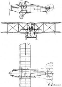 westland limousine 4 seat 1919 england model airplane plan