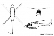 westland lynx 02 model airplane plan
