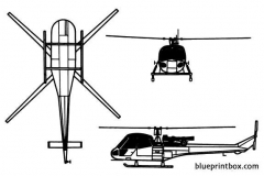 westland scout 02 model airplane plan