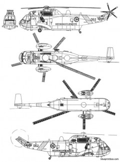 westland sea king mk43 model airplane plan