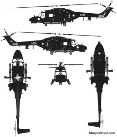 westland super lynks mk90 model airplane plan