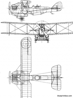 westland walrus 1921 england model airplane plan