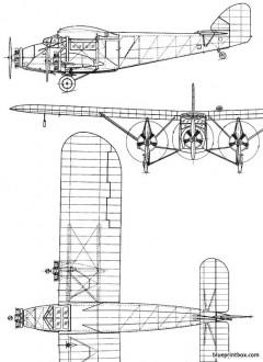 westland wessex 1929 england model airplane plan