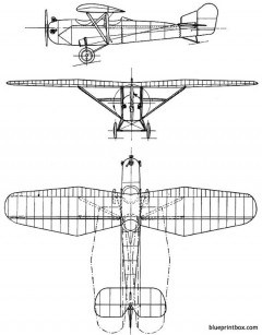 westland widgeon 1924 england model airplane plan