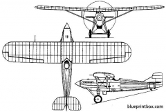 westland wizard 1926 england model airplane plan