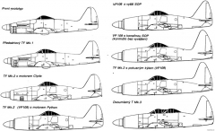 westland wyvern 3 model airplane plan