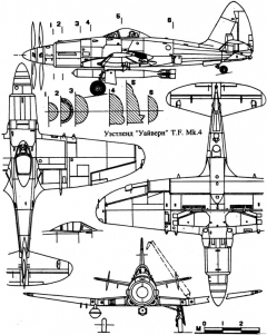 westland wyvern 4 model airplane plan