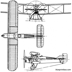 westland yeovil 1925 england model airplane plan