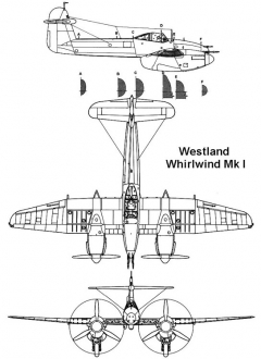 whirlwind 1 3v model airplane plan