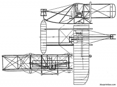 wright flyer model a model airplane plan