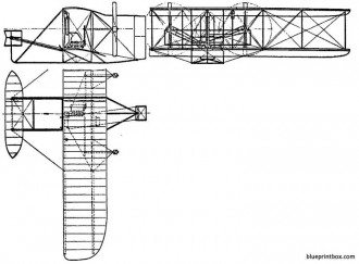wright flyer model a 2 model airplane plan