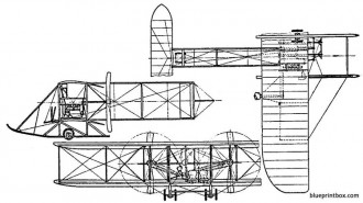 wright flyer model b model airplane plan