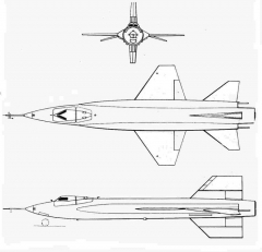x15 3v model airplane plan