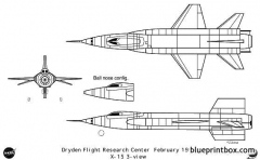 x 15 model airplane plan