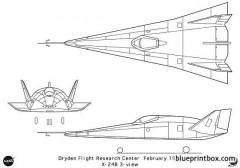 x 24b model airplane plan