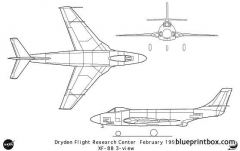 xf 88 model airplane plan