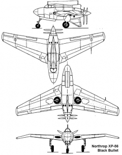 xp56 3v model airplane plan