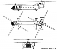 yak24 3v model airplane plan