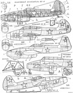 yak 15 model airplane plan