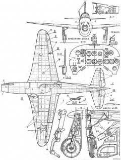 yak 15 2 model airplane plan