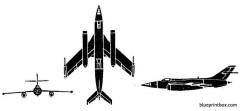yak 25 flashlight b model airplane plan