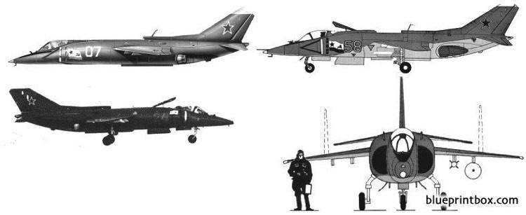 yakolev yak 36 forger model airplane plan