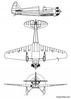 yakovlev ut 1 2 model airplane plan