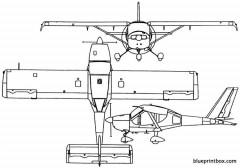 yakovlev yak 112 1993 russia model airplane plan