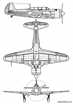 yakovlev yak 11 model airplane plan