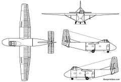 yakovlev yak 14 model airplane plan
